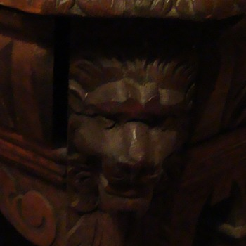 lion head desk - Furniture