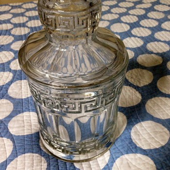"Beautiful antique ""jar"" - Glassware"
