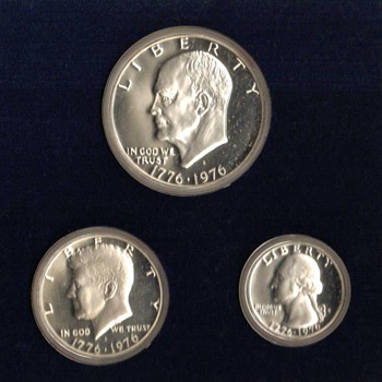 1976 S - Silver Bicentennial U.S. Proof Coins Set - US Coins