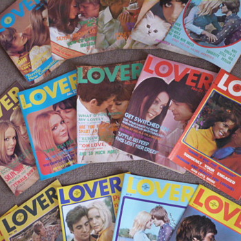 Lover UK Teenage Girls Magazine from 1970 - Paper