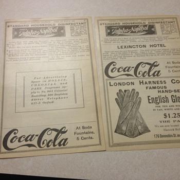 Coca Cola Paper