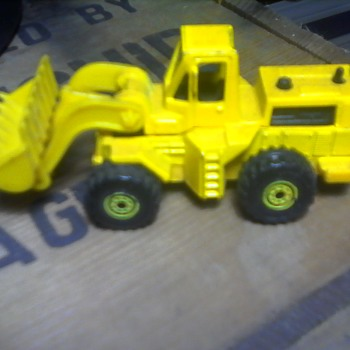 Hot Wheels Front End Loader - Model Cars