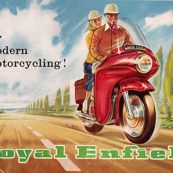 "1960 - ""Royal Enfield"" Motorcycles Brochure"