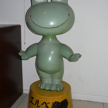 Japanese Frog Bobble Head