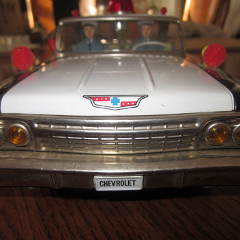 1962 Chevy Impala Toy Police Car - Model Cars