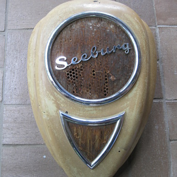Seeburg Teardrop Wall Speaker - Coin Operated
