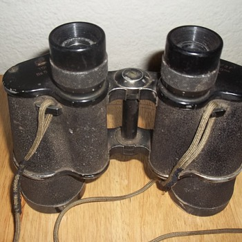 binoculars made in occupied Japan - Military and Wartime
