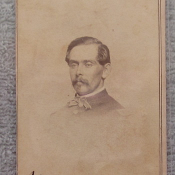 Captain Frank Hitchcock, of Cole's Cavalry (Maryland Union)