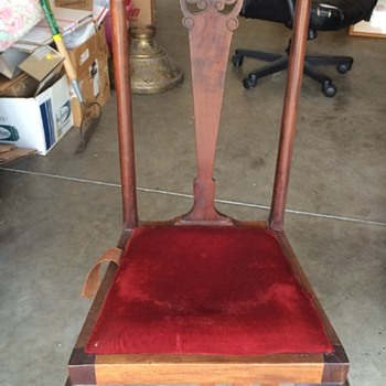 Antique Estate Sale Chair