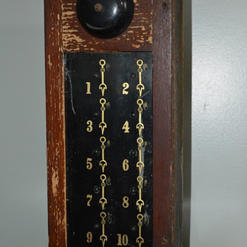 Hotel Annunciator circa 1900 - Tools and Hardware