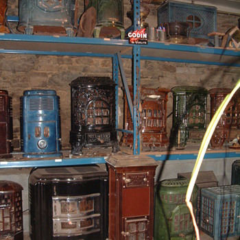 Some of My Original Art Nouveau & Art Deco French Stoves