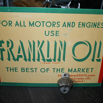 franklin oil sign