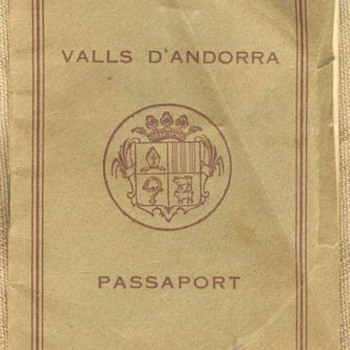One of the most rare passports... - Paper