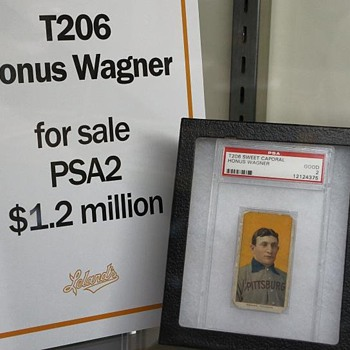 Honus Wagner Baseball Card - Baseball