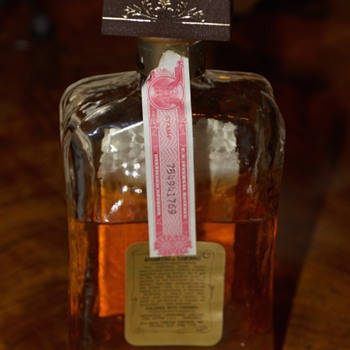 Amaretto bottle