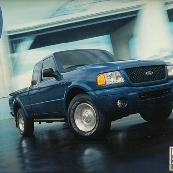 2003 Ford Ranger Truck Sales Brochure - Advertising