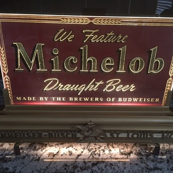 Antique Michelob Bar Light - really old - Breweriana