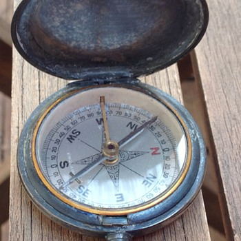 Antique Vintage pocket compass
