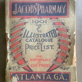 Early Coca Coca Jacobs Pharmacy Catalog - Coca-Cola