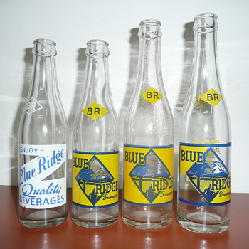 Blue Ridge Bottling Co., ACL's - Bottles