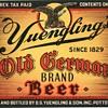 1938 Yuengling Old German Brand Beer Label.....