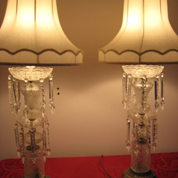 CRYSTAL PRISM LAMPS