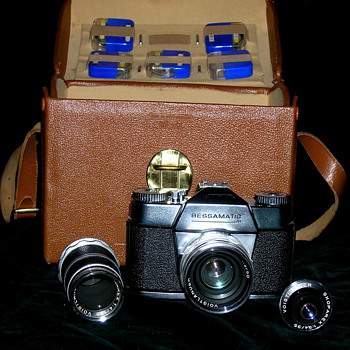 The Bessamatic M camera. - Cameras