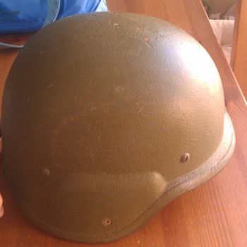 Military Helmet Please Help I.D