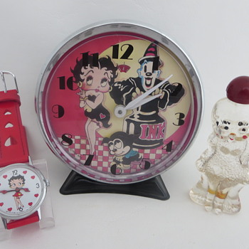 Betty Boop Collection - Clocks
