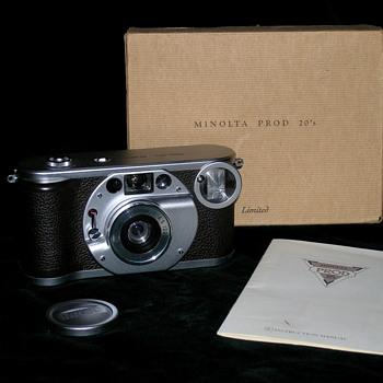Minolta Prod 20&#039;s, 1990 Limited edition!