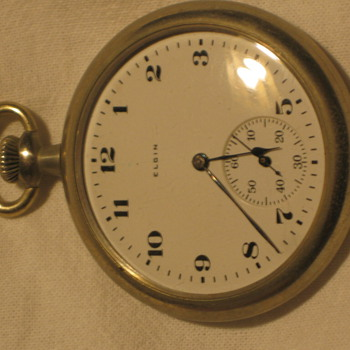 Eligin pocket watch - Pocket Watches