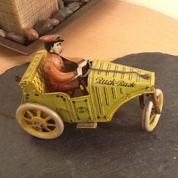 My G&K vintage wind up toy car