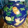 PUMPKIN VASE FROM?? Me 10 yr. old pumpkin salesman and son contest winner 5 times giant pumpkins!!