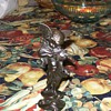 Bronze or Brass Powder Angel Figurine