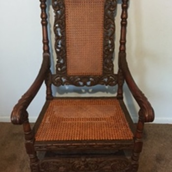 Antique Belgium Chair - Furniture