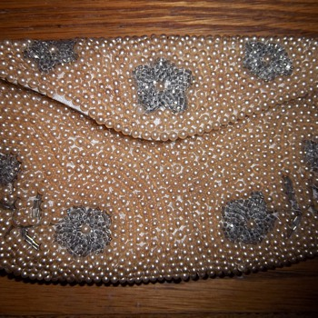Beautiful Dormar beaded clutch purse - Bags