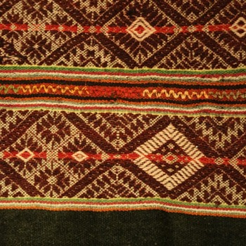 South American Indian Fabric - Rugs and Textiles
