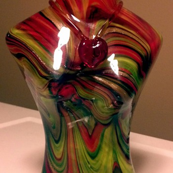 Murano womans figure glass