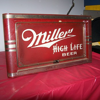 MILLER NEON - Breweriana