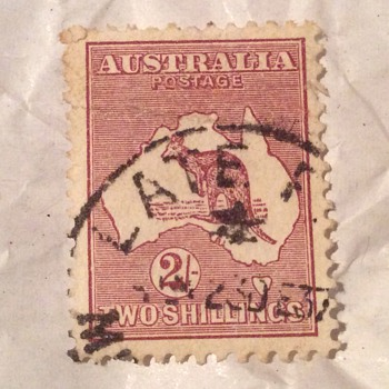 Aus stamp - Stamps