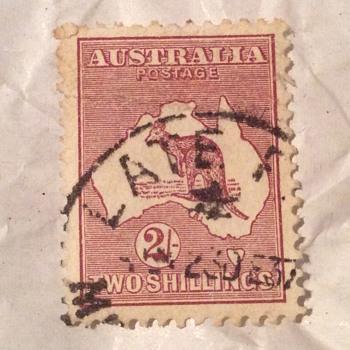 Aus stamp
