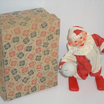 Odd Wind-up Mechanical Clown - Toys