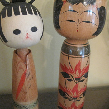 More and More Kokeshi Dolls!