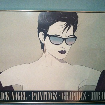 My Patrick Nagel &quot;Shades&quot; - Posters and Prints