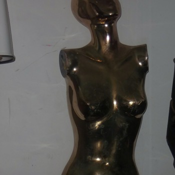 Vintage mannequin or statue