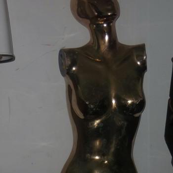 Vintage mannequin or statue