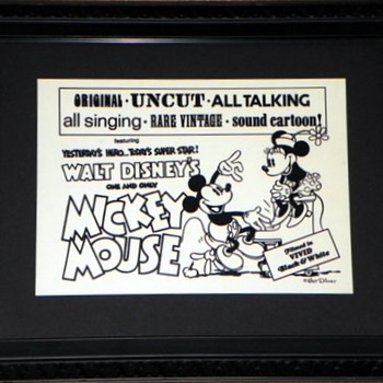 Mickey's been Framed
