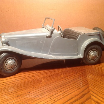 DOEPKE MODEL MG TD ROADSTER Die Cast *ORIG GRAY METAL