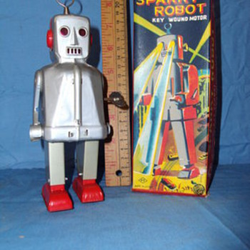 YOSHIYA Sparky Robot w/box