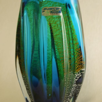 Island Craft Japan vase by Sanyu/Narumi - Art Glass